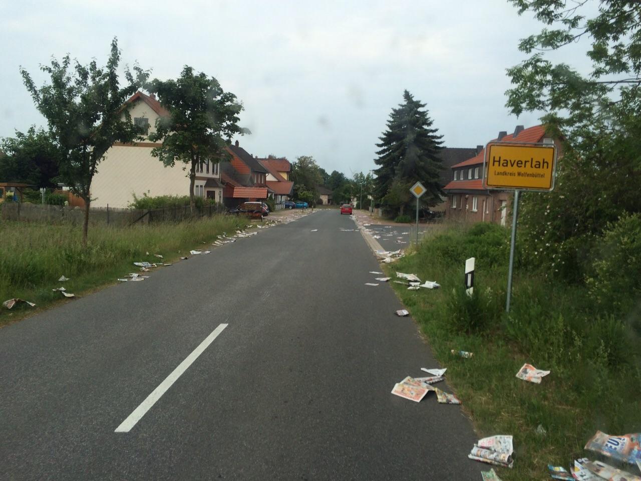 Einsatz H1 Ortschaft Haverlah