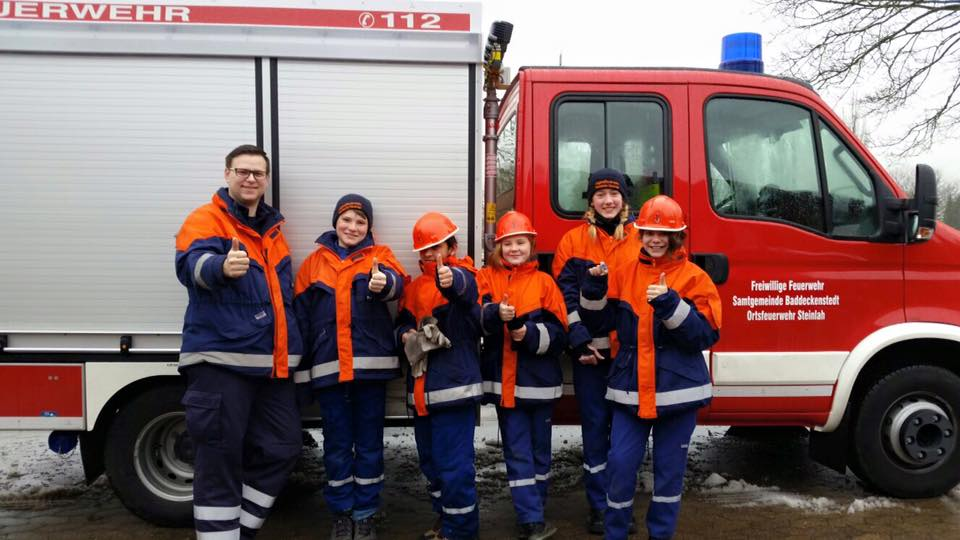 5 JF Mitglieder absolvieren Jugendflamme 1