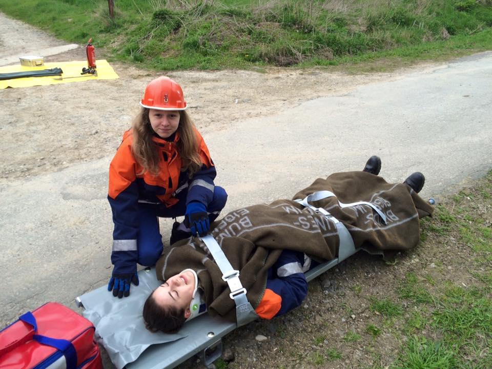 Jugendfeuerwehr – Dienst – Verkehrsunfall
