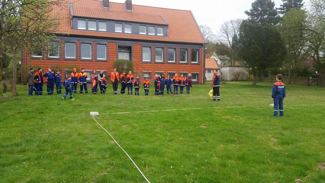 Jugendfeuerwehr – Dienst – Völkerball