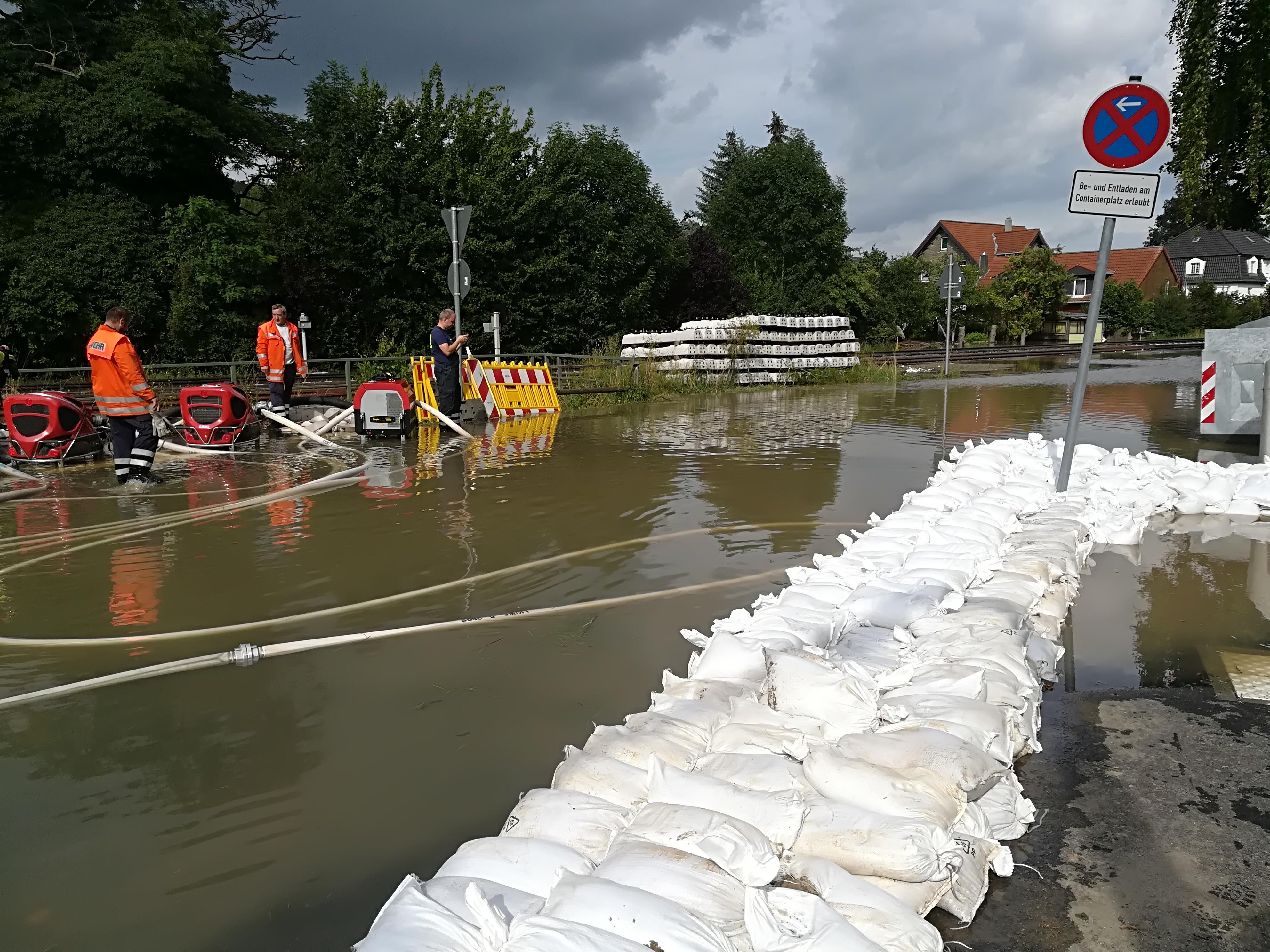 Alarm Überschwemmung Samtgemeinde Baddeckenstedt