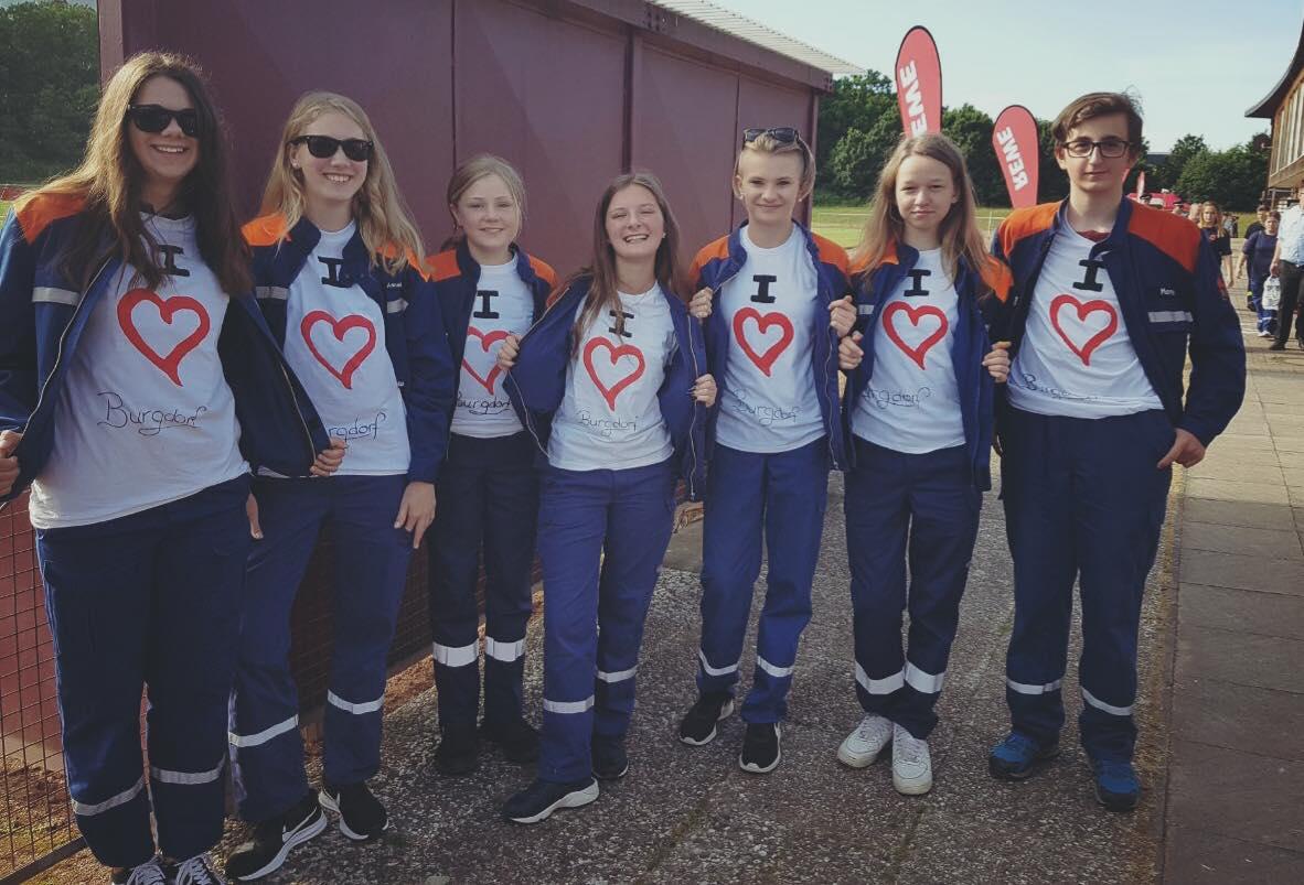 JF besucht Gemeinde Burgdorf beim Bezirkswettkampf