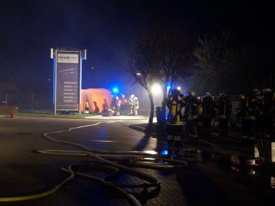 Unterstüzung – Alarmübung Samtgemeinde Elm-Asse