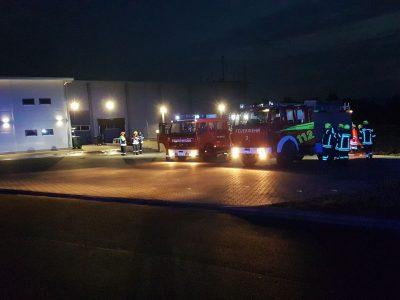 Unterstüzung – Alarmübung Feuerwehr Othfresen, Dörnten, Ostharingen und Upen
