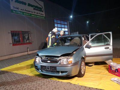 Monatsdienst – Verkehrsunfall