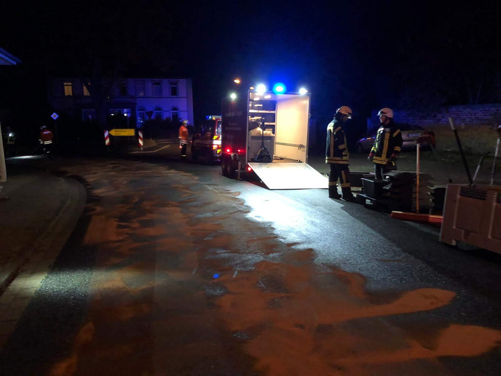 Alarm Öl2 Heerer Straße in Sehlde