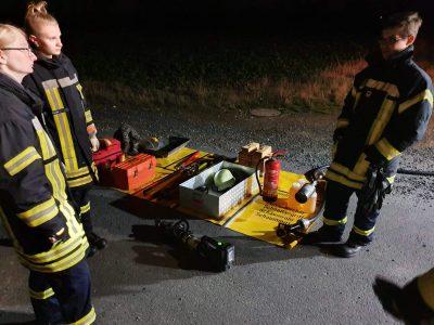 Übungsdienst – Verkehrsunfall
