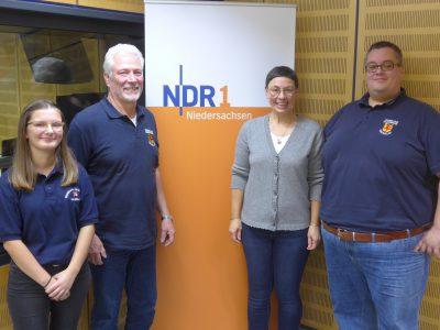 Freiwillige Feuerwehr aus Haverlah gestaltet die Sendung Plattenkiste von NDR 1 Niedersachsen
